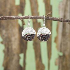Small Circles Earrings - Anju Jewelry