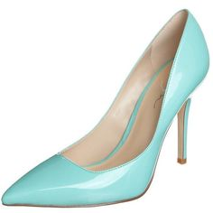 Zign High heels (6.650 RUB) ❤ liked on Polyvore featuring shoes, turquoise, women's footwear, zign, synthetic shoes, leather high heel shoes, leather footwear and real leather shoes