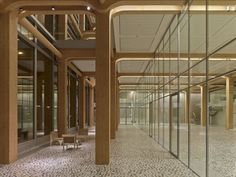 tamedia offices - zurich - shigeru ban - 2013