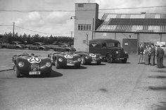 1951 Peter Walker and Peter Whitehead claim Jaguar's maiden Le Mans 24 Hours victory