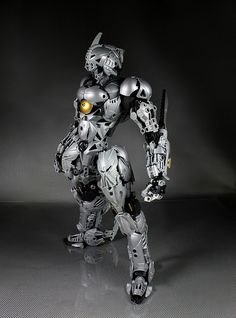 Made from bionicle pieces