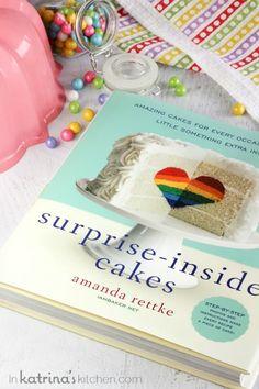Surprise Inside Cakes Cookbook Review #surpriseinsidecakes