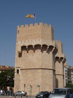 Torre de los Serranos, Valencia.
