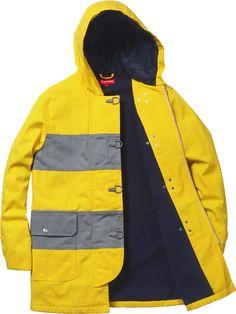 Hooded Firemans Coat