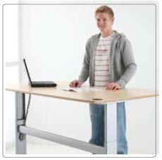 Electric Adjustable Height Desk Frame (Computer Desk)