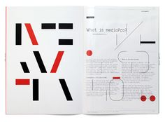 typography + layout