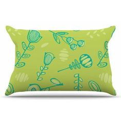 East Urban Home Hattie Too by Holly Helgeson Pillow Sham Size: Standard