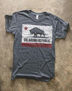 My favorite shirt from Bigfoot Creative in Norman, OK.  Every single time I wear it people say they love it and ask where it's from.  : )