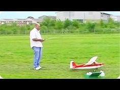 RC plane attack. That's why you should never stand in front of an RC plane