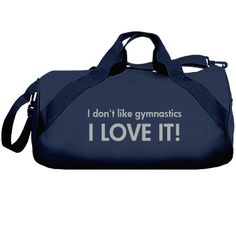 Custom Dance Gym Bag For Dancers: Liberty Barrel Duffel Bag: Whether you are going to cheerleading practice or the gym, this polyester version of our best-selling nylon roll bag from Liberty Bags is a perfect tag-along. Gymnastics Bags, Liberty Bag, Duffel Bag, Cheerleading, Baby Dolls, Barrel, Gym Bag, Hdr, Trending Outfits