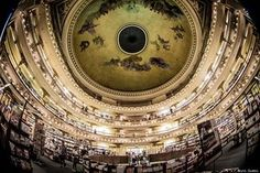 Coolest bookstores in the world. There's one in Buenos Aires!