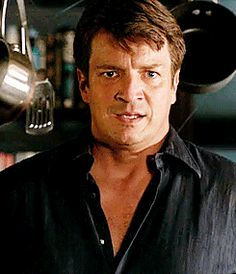 """"""" you just kind of made nerdy…sexy. Nathan Fillon, Mothers Cookies, Castle Abc, Richard Castle, Castle Beckett, Childhood Photos, Family Photos, Muse, Coffee Coffee"""