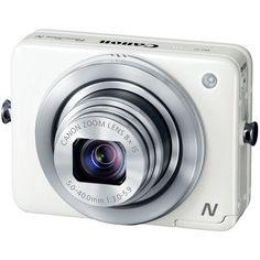 Canon PowerShot N 12 Megapixel Wireless Digital Camera - White $269.00