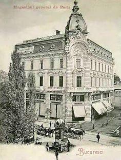 Bucharest Romania, Old Buildings, Belle Epoque, Time Travel, Old World, Old Photos, Paris Skyline, Nostalgia, Memories