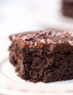 Vegane Brownies mit Hanf - Healthy On Green