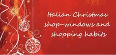 A video about Christmas shopping by our Italian partners Future Shop, Italian Christmas, Christmas Shopping, Neon Signs, Country, Rural Area, Country Music