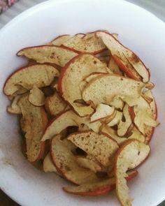 maçã desidratada.... uma delicinha.