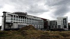 Warszawa, nieukończona budowa firmy EuRoPol Gaz. Warsaw, abandoned construction site. #urbex #abandoned #construction #site