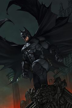 Batman version 3 by Harvey Tolibao *