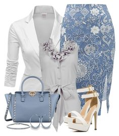 """""""V4B #132"""" by valforeverblue ❤ liked on Polyvore featuring Mode, Doublju, Altuzarra, Spense und Valentino"""