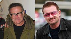 Robin Williams & Bono