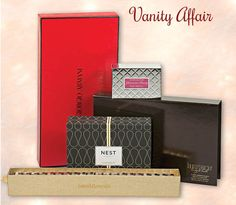 Vanity Affair  R.J. West, (631) 271-2108, is a haven for any beauty conscious babe. The cosmetic store located in Huntington carries the most sought after cosmetics, skin care products and fragrance lines. Send her in for the best makeup and skin care tips from their highly trained staff or wrap up any of the gift boxes shown here. There's something for everyone.     More at: http://www.lipulse.com