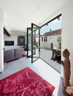 Transform an ordinary room with aluminium bi-fold doors