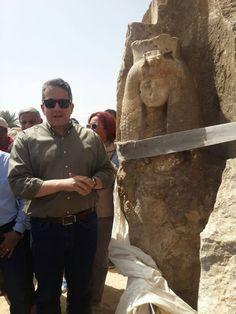 В Египте нашли статую предположительно бабушки Тутанхамона
