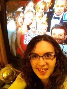 Hey, look! I'm in the Oscar selfie, too! ;) #oscars #oscarselfie