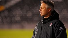 Another new manager at Fulham. Kit Symons.