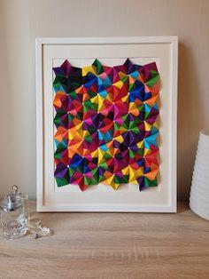 Jasmine Station - origami et jolis papiers: 3D multicolore