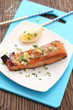 Miso Marinasyonlu Somon / Miso Marinated Salmon / Saikyo Yaki
