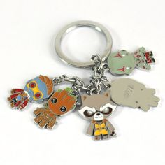 2017 Hot Guardians Galaxy Rocket Raccoon Mini Metal keychain pendant Action Figure Toys   Read more at The Bargain Paradise : https://www.nboempire.com/products/2017-hot-guardians-galaxy-rocket-raccoon-mini-metal-keychain-pendant-action-figure-toys/  2017 Hot Guardians Galaxy Rocket Raccoon Mini Metal keychain pendant Action Figure Toys Material:Metal Size:About 2.6cm Package:Opp Bag