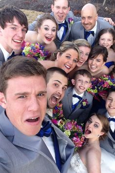 Bridal Party Selfie!!!
