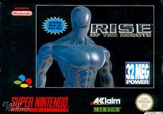 Rise of the Robots (1995) SNES.... Not a good game...