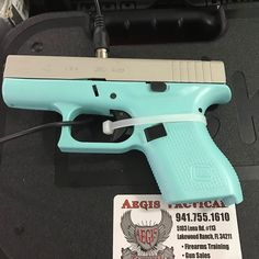 #Glock #42 #robinseggblue available at @aegistactical