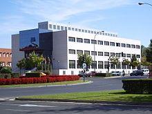Edificio del Rectorado de la Universidad de La Rioja.