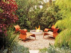 The experts at HGTV.com share ideas and designs for backyard fire pits.