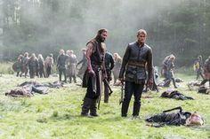 Clive Standen as Rollo, Alexander Ludwig as Bjorn