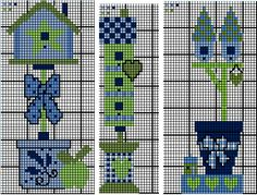 Ladder Stitch, Stitch 2, Cross Stitch Charts, Case, Plastic Canvas, Bird Houses, No Time For Me, Bookmarks, Workshop