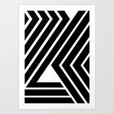 WILD STRIPES Art Print by RK // DESIGN - $22.88