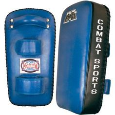 Combat Sports Kit-Item Air Technology Thai Pad Pair, Blue