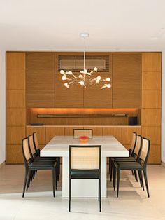 Rosa Claro Inspirações: DICA - 95: Apartamento carioca de 185 m² cheio de arte e de tecnologia