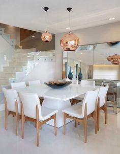 Contemporary Dining Room Ideas to Inspire You Dining Room Design, Dining Room Table, Dining Area, Dinner Room, Dining Room Inspiration, Inspiration Design, Home Living, Sweet Home, Room Decor