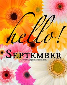 Hello September Hello September Images, September Quotes, September Pictures, Welcome September, Hello November, New Month Quotes, Monthly Quotes, New Month Wishes, September Wallpaper