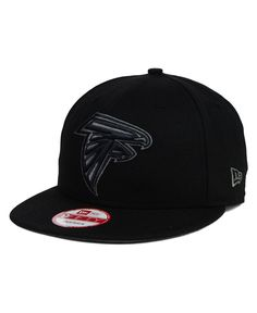 New Era Atlanta Falcons Black Gray 9FIFTY Snapback Cap
