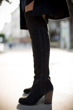 Over The Knee Boots - Gal Meets Glam