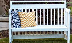 6 Fun Ways to Repurpose Your Crib: Now that baby's grown, you can get creative