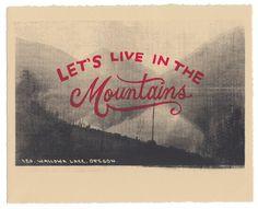 Hey, ho trovato questa fantastica inserzione di Etsy su https://www.etsy.com/it/listing/170968226/vogliamo-vivere-in-montagna-stampa