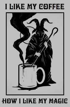 """""""Black as midnight, black as pitch, blacker than the foulest witch!"""" - Blix"""